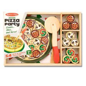 ערכה מעץ להכנת פיצה Melissa & Doug