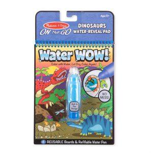 חוברת טוש המים דינוזאורים Melissa & Doug