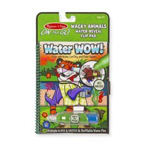חוברת טוש מים חיות משוגעות Melissa & Doug