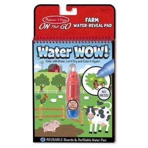 חוברת טוש מים חווה Melissa & Doug