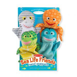בובות יד חיות ים Melissa & Doug