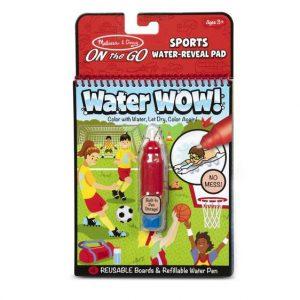 חוברת טוש המים ספורט melissa & doug