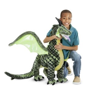 בובה רכה דרקון ענק Melissa & Doug