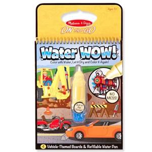 חוברת טוש מים כלי רכב Melissa & Doug