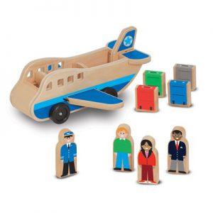 מטוס עץ Melissa & Doug