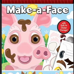חוברת מדבקות בעלי חיים -חזיר-melissa & doug