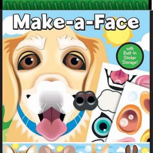 חוברת מדבקות בעלי חיים -כלב-melissa & doug
