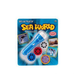 פנס מקרין שקופיות -עולם הים