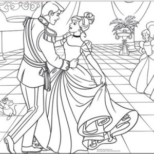 """פאזל """"סינדרלה והנסיך"""" 35 חלקים דו צדדי  – מבית Lisciani"""