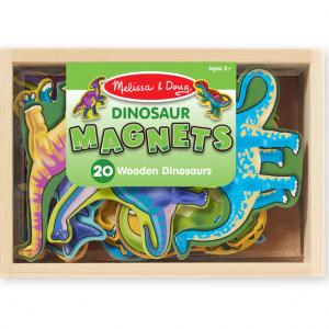 צורות מגנט מעץ – דינוזאורים Melissa & Doug