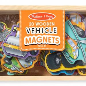 צורות מגנט מעץ – כלי תחבורה Melissa & Doug