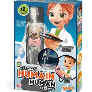 ערכת מדע לילדים גוף אנושי-buki france