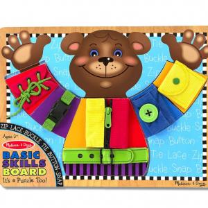 לוח דובי לכישורים מוטורים בסיסיים Melissa & Doug