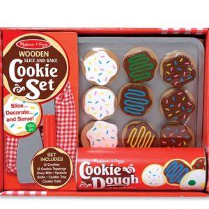 מארז מעץ להכנת עוגיות Melissa & Doug מונטסורי