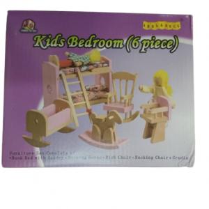 """חדר ילדים מעץ מבית """"ANNA & BECK"""""""