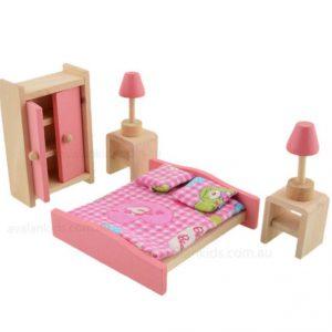 """חדר שינה מעץ מבית """"ANNA & BECK"""""""