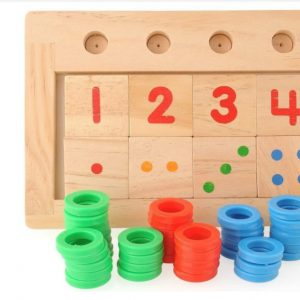לימוד מספרים – עץ מונטסורי
