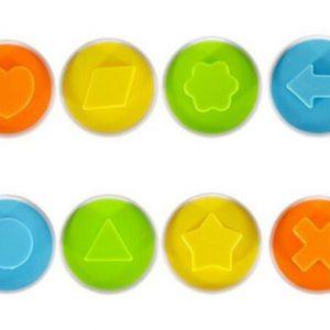 תבנית ביצים צבעוניות 12 יחידות