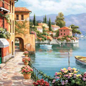 """פאזל """"וילה דה לאגו"""" – 1500 חלקים – anatolian"""