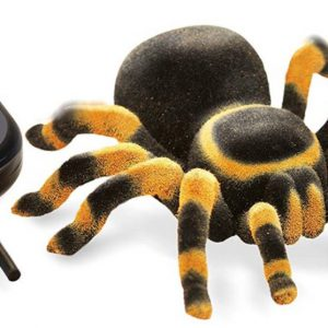 """רובוט עכביש """"טרנטולה"""" עם שלט מבית: """"buki""""  בוקי, צרפת"""