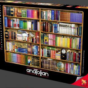 """פאזל """"מדפי ספרים"""" – 1000 חלקים – anatolian"""