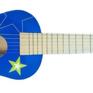 """""""גיטרה כחולה"""" מעץ"""