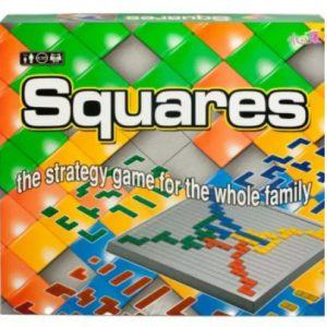 """""""SQUARES"""" – משחק אסטרטגיה חשיבתית לכל המשפחה"""
