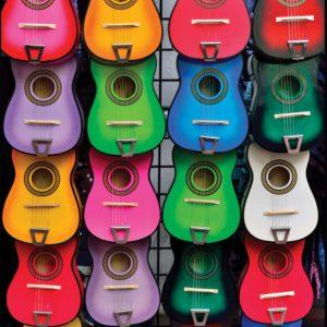 """פאזל """"צבעוני מוסיקה"""" – 500 חלקים – Anatolian"""