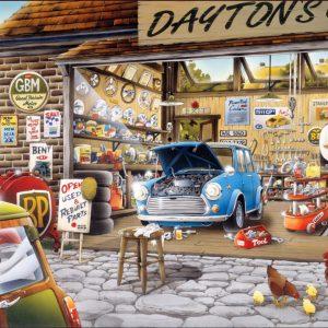"""פאזל """"המוסך של דייטון"""" 500 חלקים  – anatolian"""