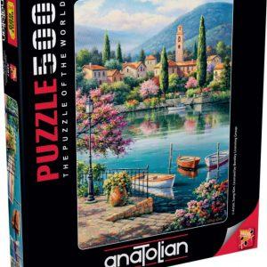 """פאזל """"אחר הצהריים של אגם הכפר"""" 500 חלקים  – anatolian"""