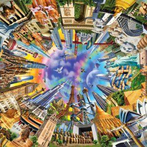 """פאזל """"360 עולם"""" – 3000 חלקים – Anatolian"""