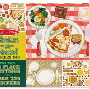 """חוברת מדבקות """"מכינים ארוחה"""" Melissa & Doug"""