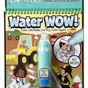 חוברת טוש המים מקצועות Melissa & Doug