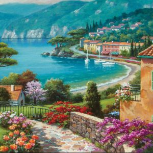 """פאזל """"לצד האגם"""" – 1500 חלקים – anatolian"""