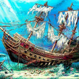 """פאזל """"אוצרות ים טרופות """" – 1500 חלקים – anatolian"""