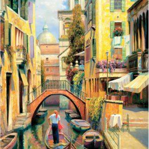"""פאזל """"יום ראשון בוונציה"""" 500 חלקים  – anatolian"""