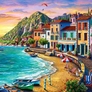 """פאזל """" חוף נפלא"""" – 2000 חלקים – anatolian"""