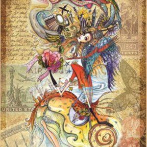 """פאזל """"ילדה צ'רקסית"""" – 1500 חלקים – anatolian"""
