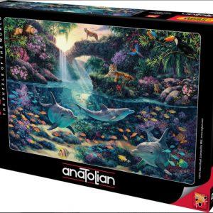 """פאזל """"גן עדן לג'ונגל"""" – 3000 חלקים – Anatolian"""