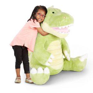 """בובת """"דינוזאור"""" ענקית מבית :Melissa & Doug"""
