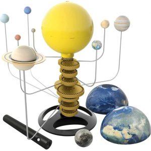 """ערכת מדע מערכת סולארית שולחנית """"BUKI """""""