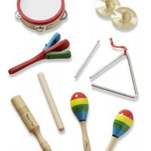 """ערכת כלי נגינה כלי הקשה מעץ """"Melissa & Doug"""""""