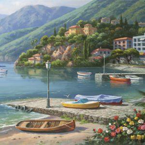 """פאזל """"מפרץ הילסייד הארבור """" – 1000 חלקים – anatolian"""