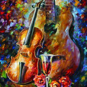 """פאזל """"גיטרה וכינור"""" 500 חלקים  – anatolian"""