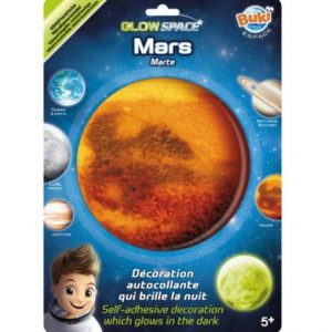 """מדבקות זוהרות בחושך – """"כוכב מאדים"""" -Buki ,צרפת"""
