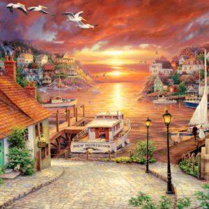 """פאזל """"אופקים חדשים"""" – 1500 חלקים – anatolian"""