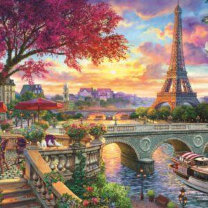 """פאזל """"אביב בפריז """" – 3000 חלקים – Anatolian"""