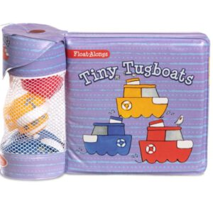ספר אמבטיה עם צעצועי סירת משיכה Melissa & Doug