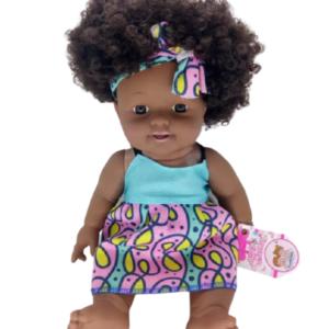 בובה אפריקאית מתולתלת