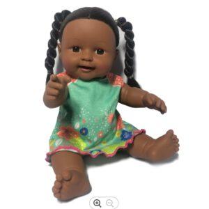 בובה אפריקאית כהת עור